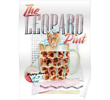 The Leopard Pint Poster