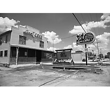 Route 66 - Luna Cafe Photographic Print