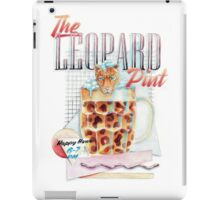 The Leopard Pint iPad Case/Skin