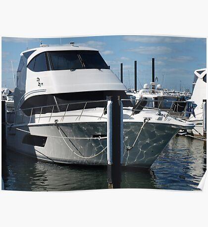 Fremantle Boat Poster