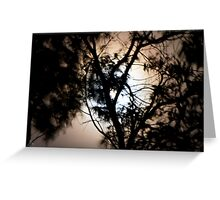Moonlight, Clouds & Wind Greeting Card