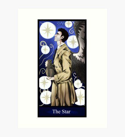 Castiel- The Star Art Print