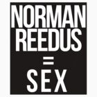 Fangirl Math: Reedus = Sex (sticker + iPhone) by eltrk
