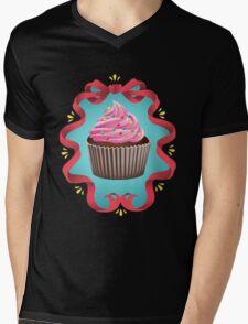 Cupcake Mens V-Neck T-Shirt