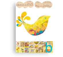B is for Bird Canvas Print