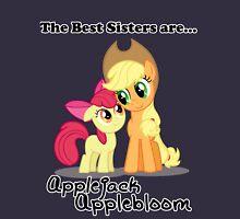 The Best Sisters are Applejack and Applebloom Unisex T-Shirt
