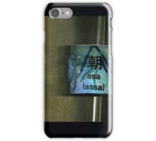 assa  -- mattina iPhone Case/Skin