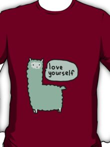 Love Yourself Alpaca T-Shirt