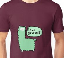 Love Yourself Alpaca Unisex T-Shirt