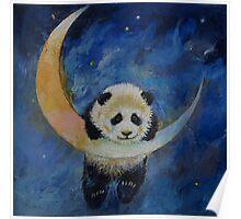 Panda Stars Poster