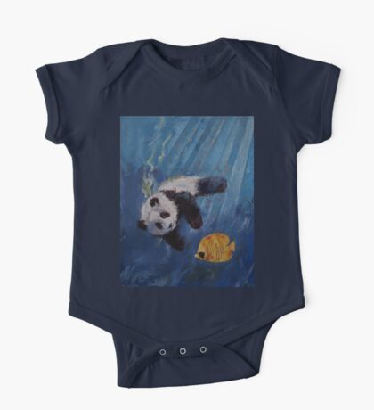 Panda Diver One Piece - Short Sleeve