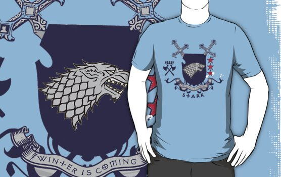 House Stark Badge by eelectro11