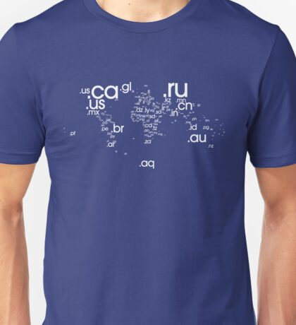 World Wide Web (White) Unisex T-Shirt