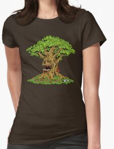 Murder Tree Womens Fitted T-Shirt