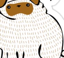 Pugs Not Drugs Sticker
