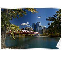 "'The Peace Bridge"" Calgary Poster"