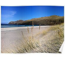 A Hebridean Beach In Early April Poster