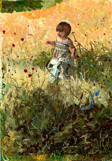 Meadow Girl by CecilysSong