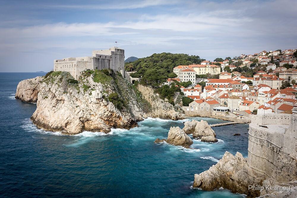 Dubrovnik Castle by Philip Kearney