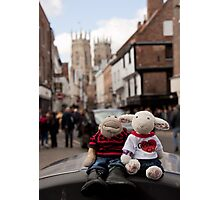 Day Out in York Photographic Print