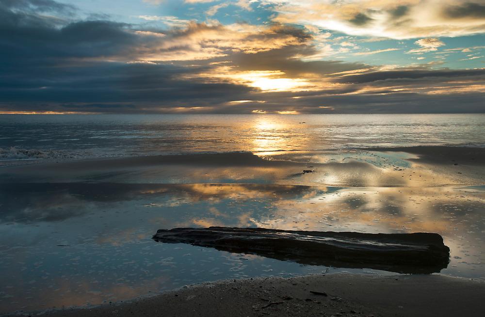 Washed Up - Etty Bay sunrise by Jenny Dean