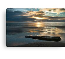 Washed Up - Etty Bay sunrise Canvas Print