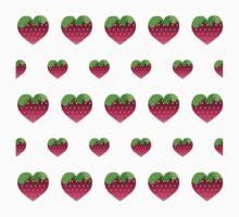 Strawberry heat  Kids Tee
