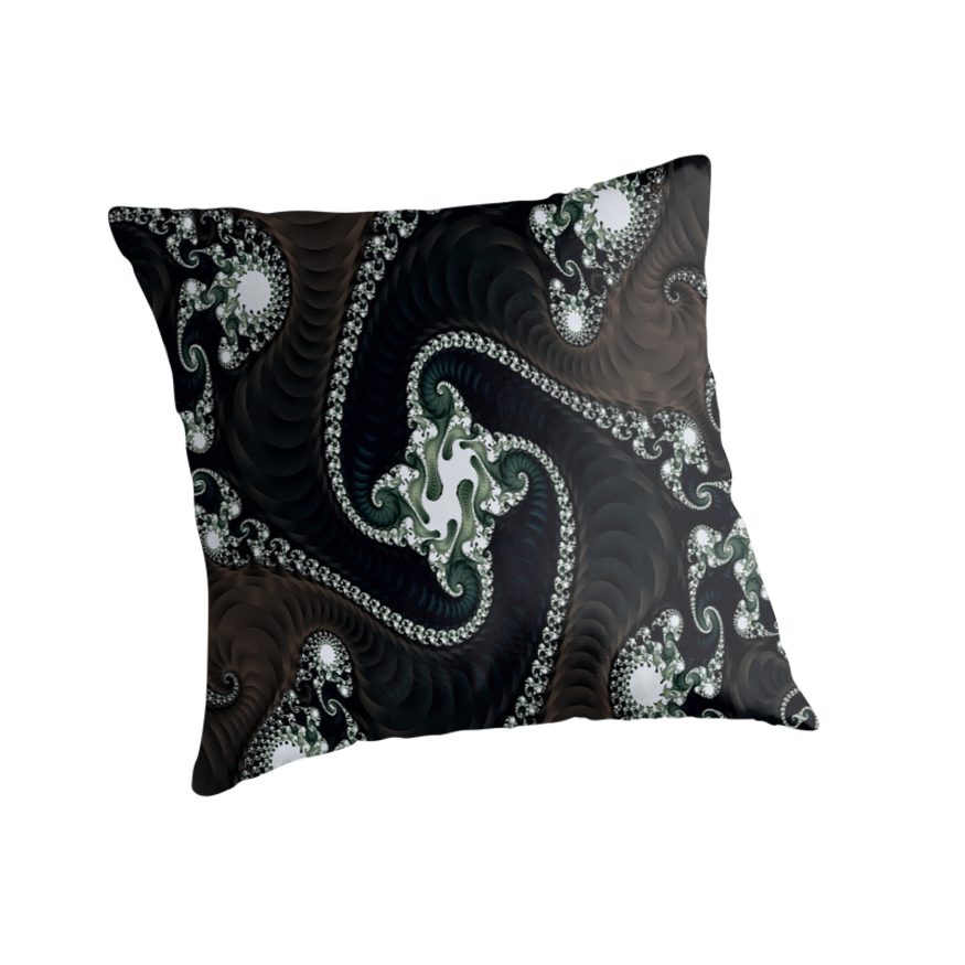 Black White Tan Throw Pillows :