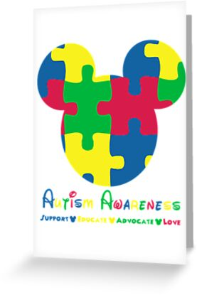 Mickey Mouse Autism Awareness by sweetsisters