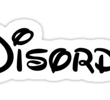 Disney Disorder Sticker