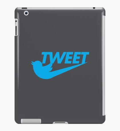 Tweet (Grey) iPad Case/Skin