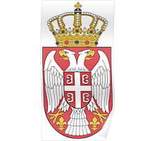 Lesser Coat of Arms of Serbia Poster