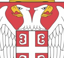 Lesser Coat of Arms of Serbia Sticker