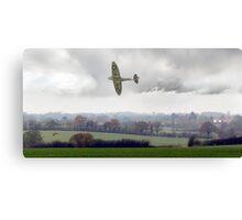 Eagle over England Canvas Print