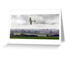 Eagle over England Greeting Card