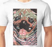 Pug in a Pink Sweater Unisex T-Shirt
