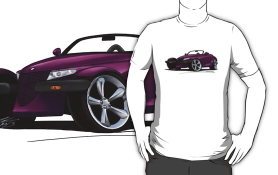 Richard Yeomans › Portfolio › Plymouth Prowler Purple