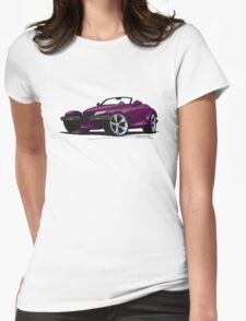 Plymouth Prowler Purple Womens Fitted T-Shirt