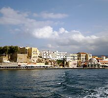 Chania, Crete, Greece by kateabell