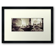The First Day of Being Five Framed Print