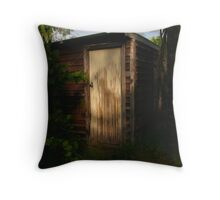 To shed (verb) Throw Pillow