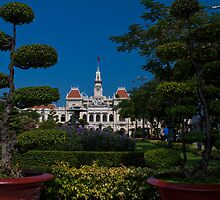 Vietnam. Ho Chi Minh City (Saigon). Former City Hall. by vadim19