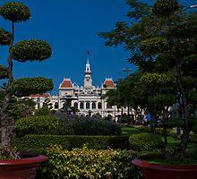 Vietnam. Ho Chi Minh City (Saigon). Former City Hall. by vadim19