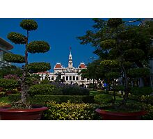 Vietnam. Ho Chi Minh City (Saigon). Former City Hall. Photographic Print