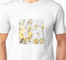 Bee Cells/ Bee Hive design  Unisex T-Shirt