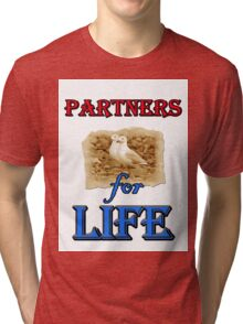 PARTNERS FOR LIFE Tri-blend T-Shirt