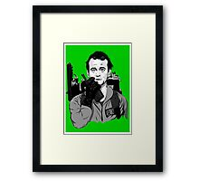 Ghostbusters Peter Venkman illustration Framed Print