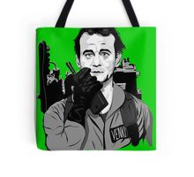 Ghostbusters Peter Venkman illustration Tote Bag