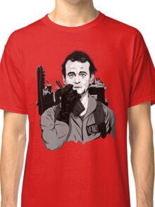 Ghostbusters Peter Venkman illustration Classic T-Shirt