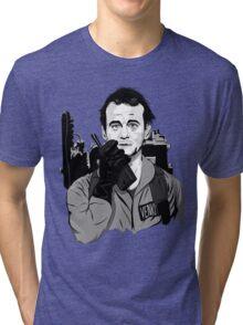 Ghostbusters Peter Venkman illustration Tri-blend T-Shirt